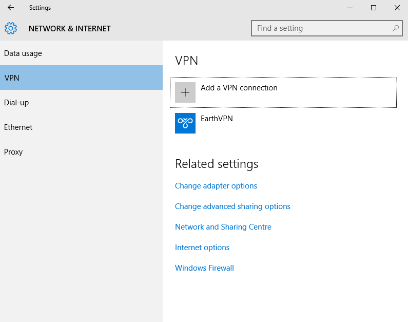 Windows10step2 Windows 10   SSTP VPN Setup Tutorial : Cheap Anonymous VPN Service with SSTP, PPTP, L2TP and OpenVPN Protocols   BitCoin and AliPay Accepted