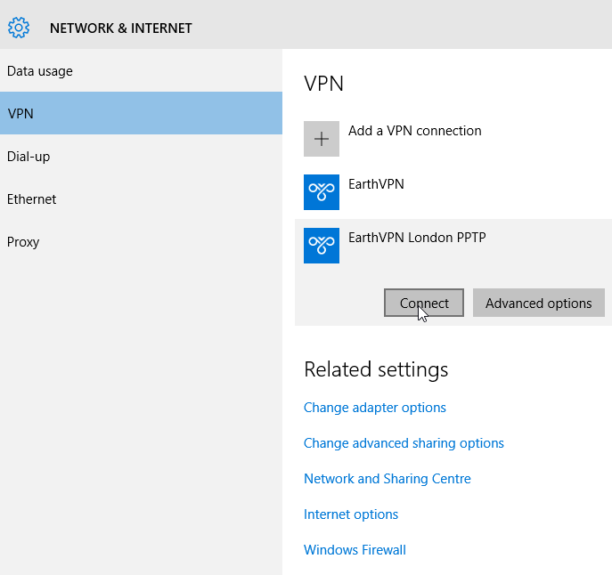Windows10step4 Windows 10 – PPTP VPN Setup Tutorial : Cheap Anonymous VPN Service with SSTP, PPTP, L2TP and OpenVPN Protocols   BitCoin and AliPay Accepted