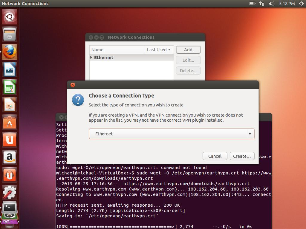 client openvpn linux