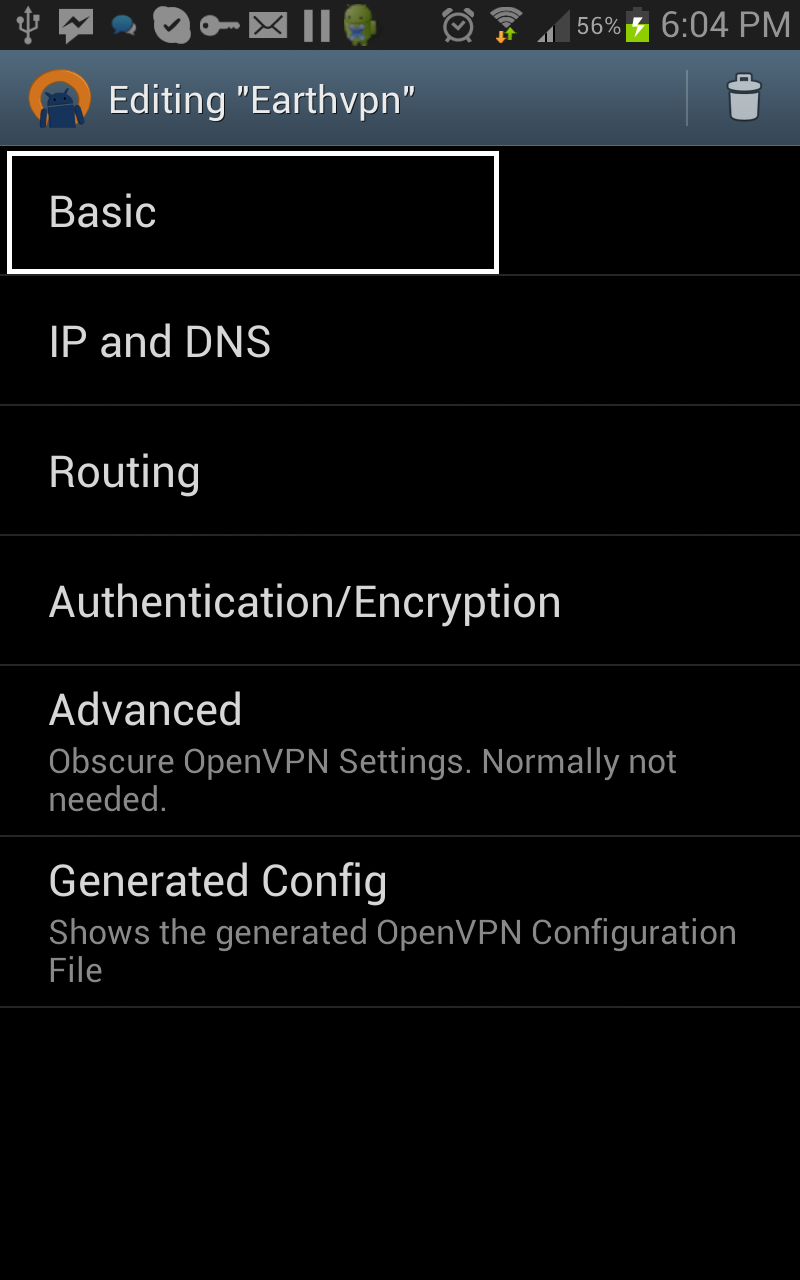 How to Configure OpenVPN on Android - VPN PPTP, SSTP, L2TP