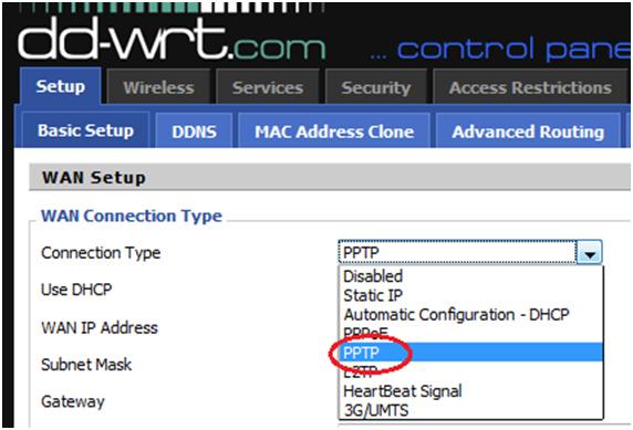 Using DD-WRT VPN Routers - PPTP VPN Setup Tutorial - EarthVPN