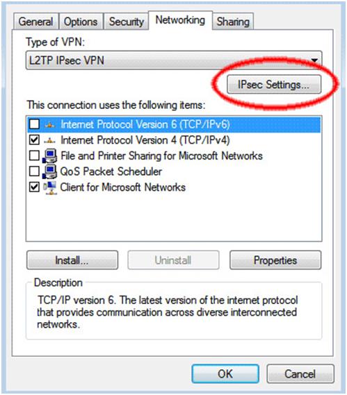 Windows Vista - L2TP VPN Setup Tutorial - VPN PPTP, SSTP